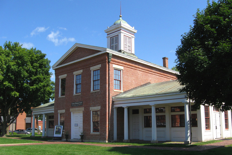 <i>Old Market House (ca. 1845)</i> - Dating back to Galena's glory years, this building was once the center of commerce in the town.  The building also was home to the town government and jail for a number of years.