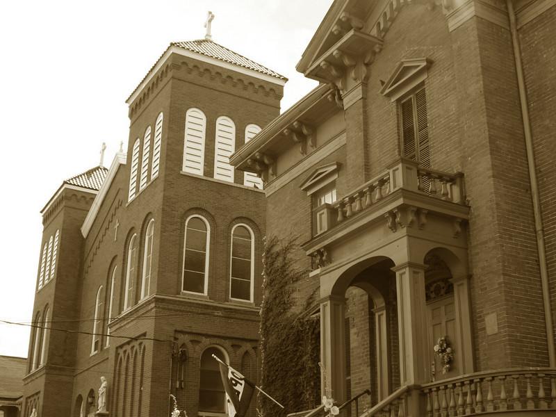 <i>St. Michael Catholic Church (ca. 1857-1863)</i>
