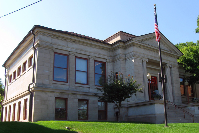 <i>Galena Public Library (ca. 1907)</i>