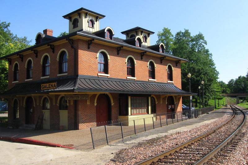 <i>Illinois Central Railroad Depot (ca. 1857)</i>