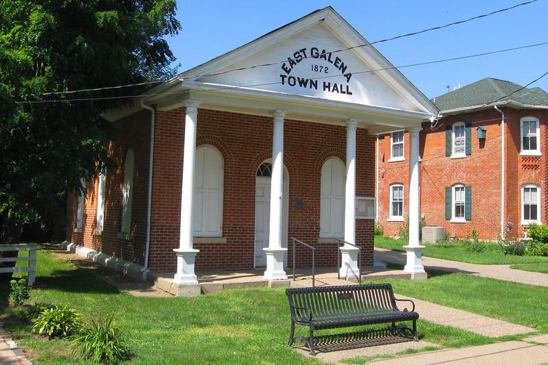 <i>East Galena Town Hall (ca. 1872)</i>