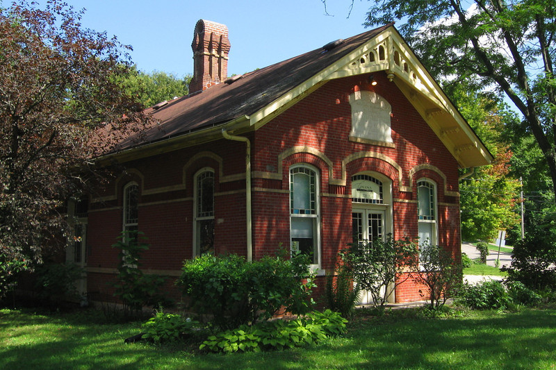 <i>Old Galena Waterworks Building (ca. 1886)</i>