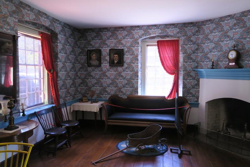 John Vogler House (ca. 1819) -- Parlor