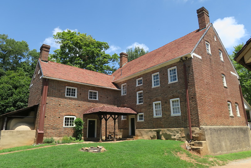 Salem Tavern (ca. 1824) - Rear Outdoor View