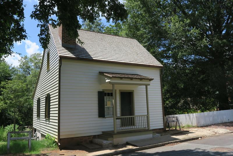 Salt-Flax House (ca. 1815?)