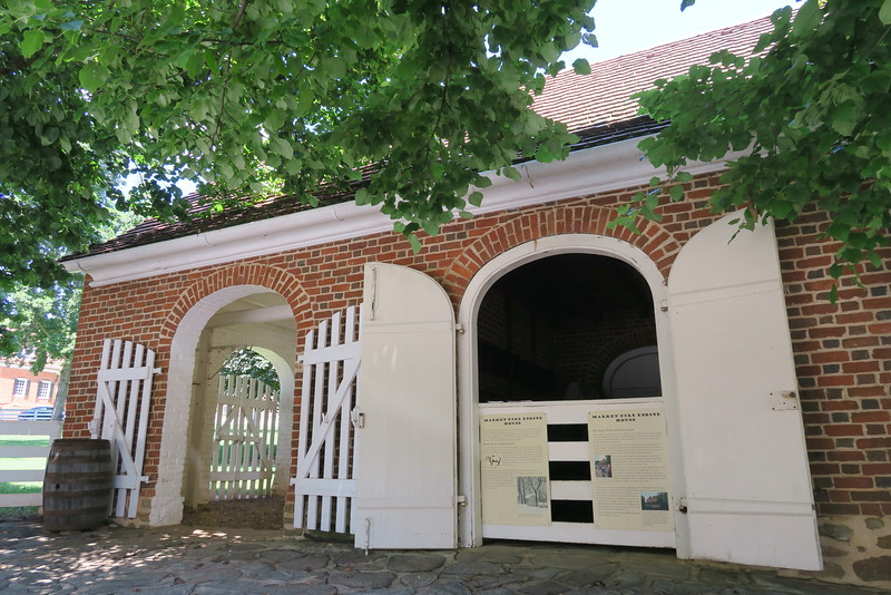 Market-Fire Engine House (ca. 1803)