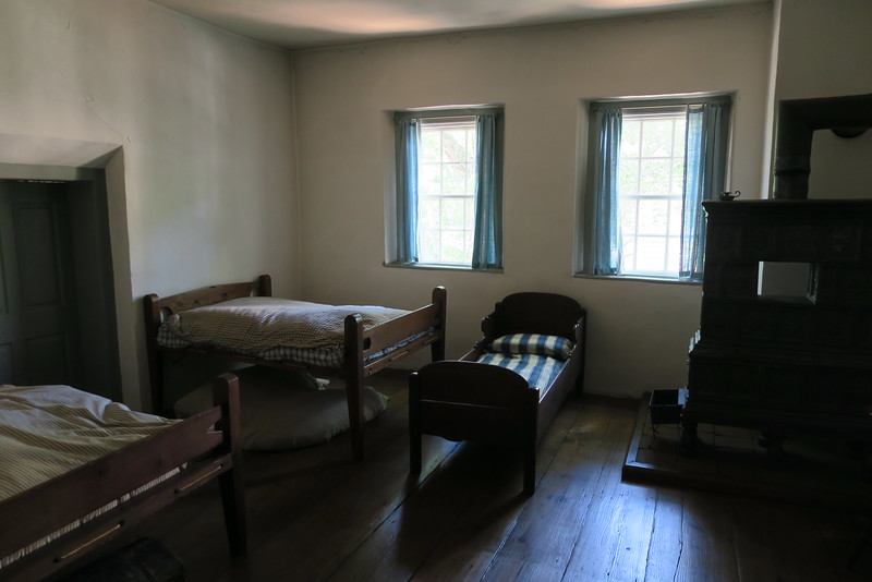 Salem Tavern (ca. 1784) -- Upstairs Guest Room