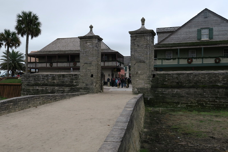 St. Augustine City Gate -- ca. 1808