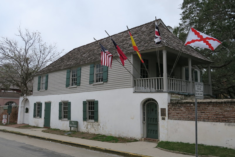 "Gonzalez-Alvarez House (""Oldest House"") -- ca. ~1702"