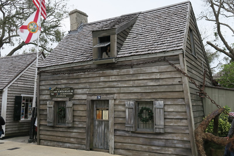 Oldest Wooden Schoolhouse -- ca. ~1716