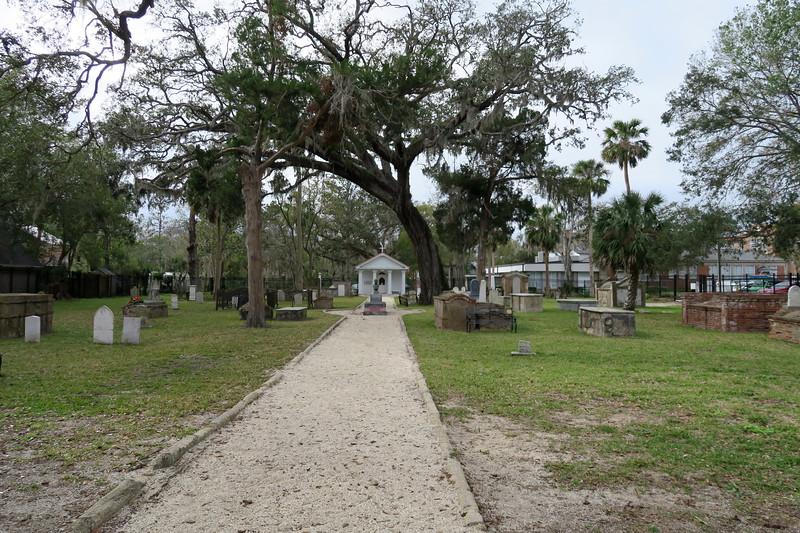 Tolomato Cemetery -- ca. 1777