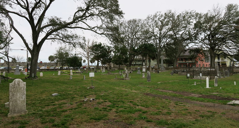 Old Huguenot Cemetery -- ca. 1821