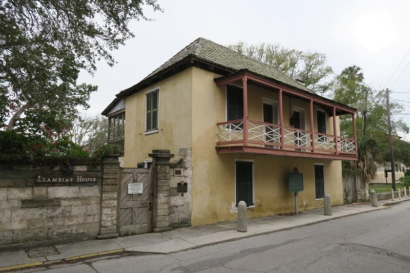 Fernandez-Llambias House -- ca. pre-1763