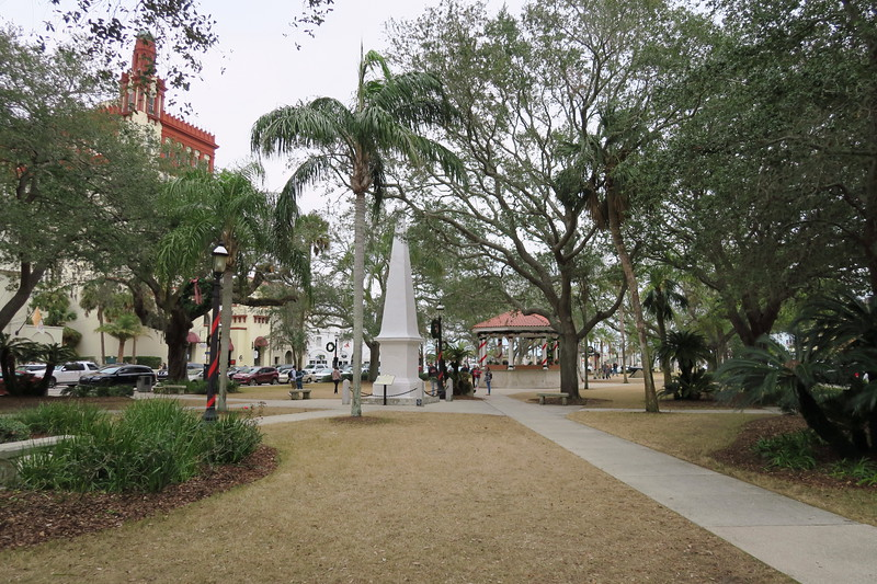 St. Augustine Central Plaza -- ca. 1573