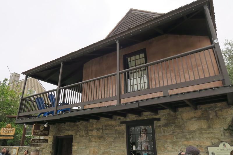 Josef Salcedo House -- ca. 1790's (reconstructed ca. 1964)