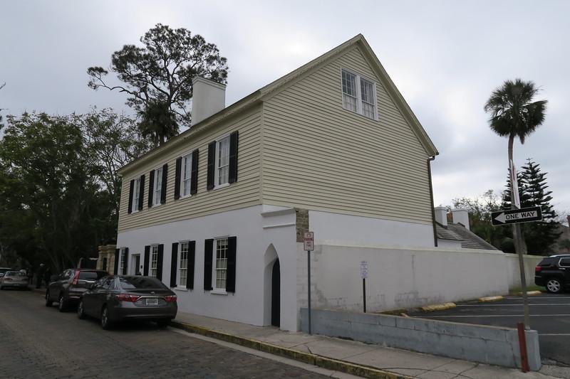 Paredes-Segui-McMillan House -- ca. pre-1764