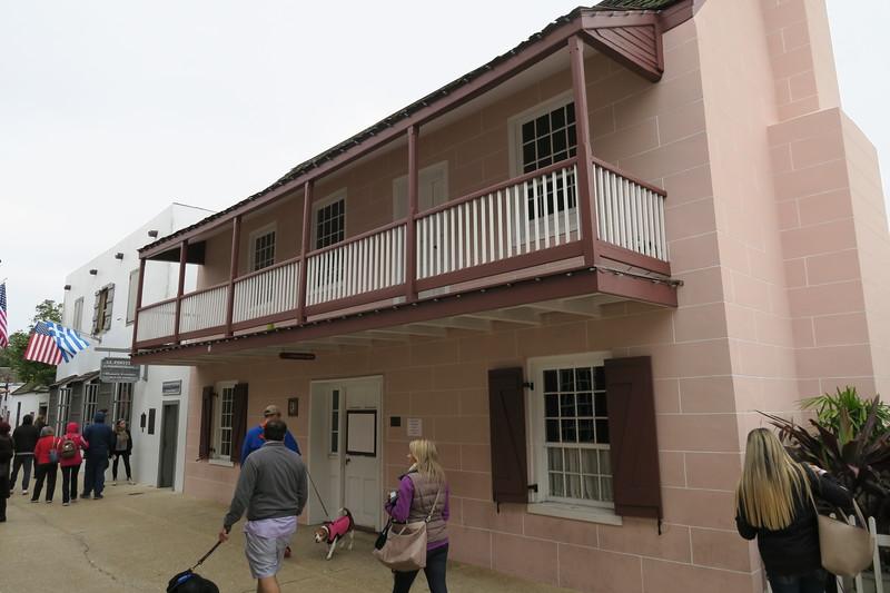 DeMesa-Sanchez House -- ca. mid-1700's