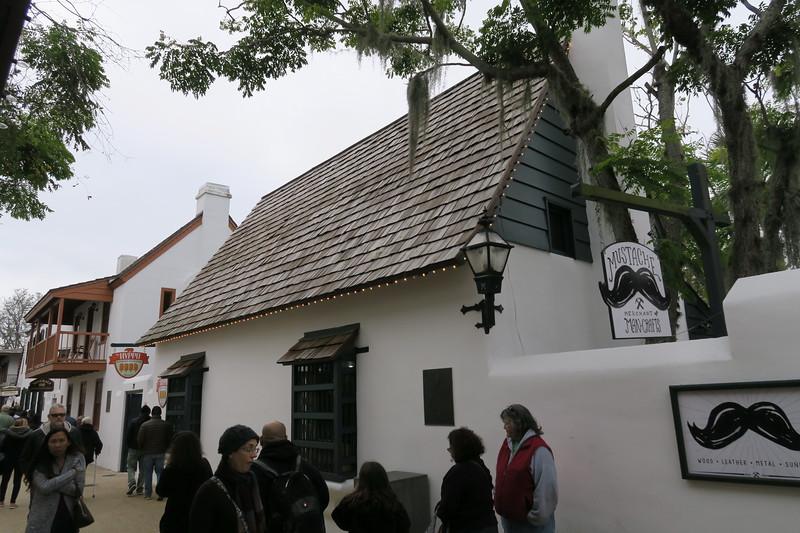 Ortega House -- ca. 1740 (reconstructed ca. 1967)
