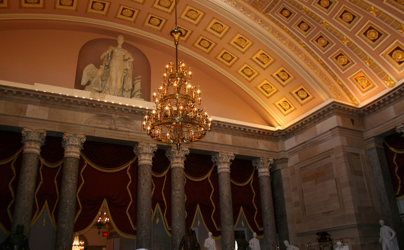 U.S. Capitol - Old House of Representatives Chamber