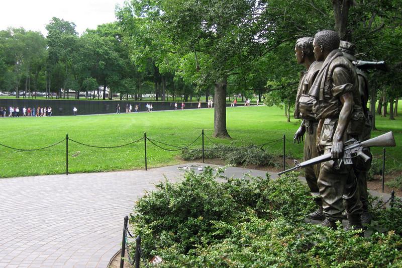 Vietnam Veterans Memorial (ca. 1982)