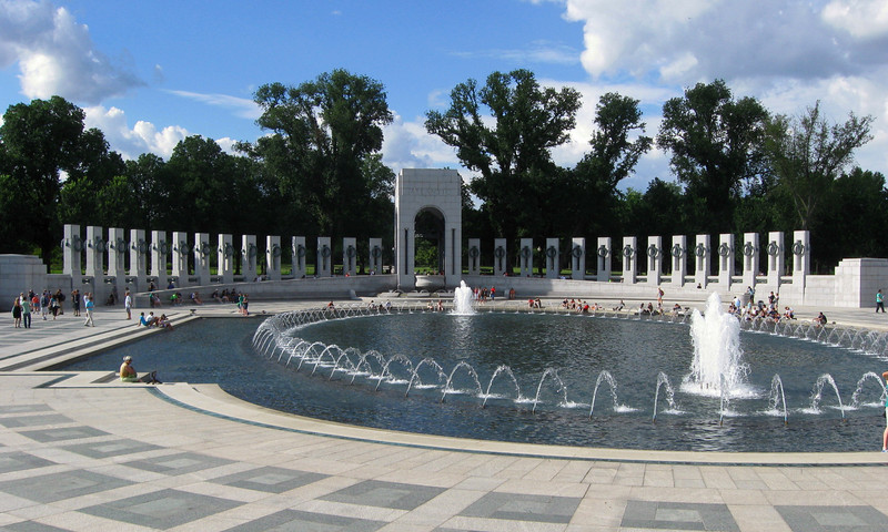 U.S. National World War II Memorial (ca. 2004)