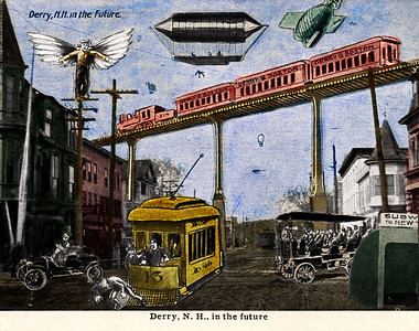 Derry in the Future hand colored available in a higher resolution