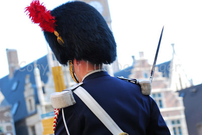 Some 150 members of the Royal Mounted Escort introduced the pageant of the Floralies in Ghent (Gent), Belgium. The Royal Escort is part of the Federal Police.