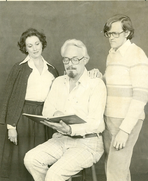 At left: Joseph Shostak of the  Music Department