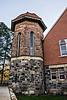 Corner tower, Starkweather Hall