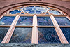 Window detail, Saline First Presbyterian Church