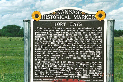 Fort Hays, Kansas State Historical Site