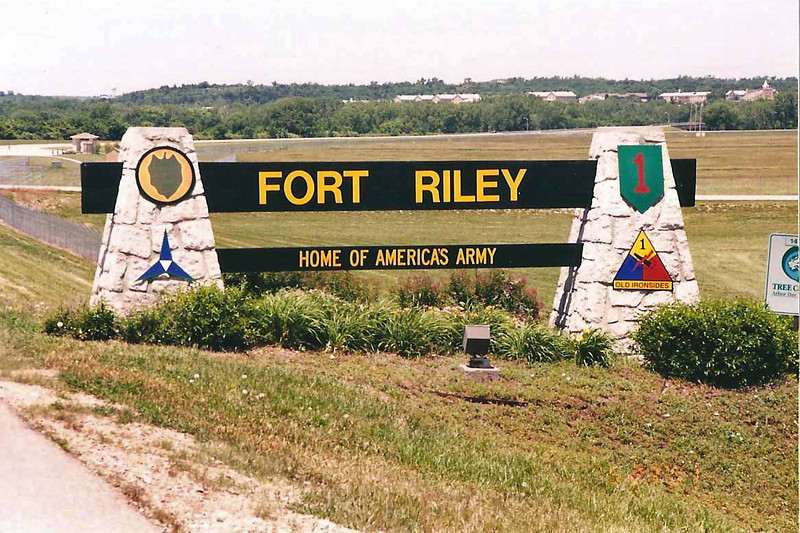 """""""During the 1850s, Fort Riley was the home station for Colonel Philip St. George Cooke, Captain's John Buford and Lewis Armistead (who fought on opposite sides at Gettysburg), Captain Nathaniel Lyon (the first Union General killed during the Civil War at the Battle of Wilson's Creek), and First Lieutenant James Ewell """"JEB"""" Stuart.<br /> <br /> """"LTC Robert E. Lee was at Fort Riley for court martial duty in the first week of November 1855.  The following week, Lieutenant Jeb Stuart married Flora Cooke at the post.<br /> <br /> """"Contrary to some historical accounts, Custer and the Seventh Cavalry did not leave from Fort Riley for the Little Big Horn.<br /> <br /> """"The only President's to visit Fort Riley while in office were Theodore Roosevelt in 1903 and Franklin D. Roosevelt in 1943.""""<br /> <br /> Source: Fort Riley Driving Tour pamphlet, retrieved 12/17/2013 from <a href=""""http://www.riley.army.mil/UnitPage.aspx?unit=DPTMS.Museum&nav=Recreation"""">http://www.riley.army.mil/UnitPage.aspx?unit=DPTMS.Museum&nav=Recreation</a>"""
