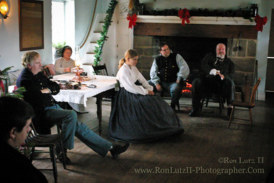 The McMurray Old Stone House 1860's Christmas The Old Stone House