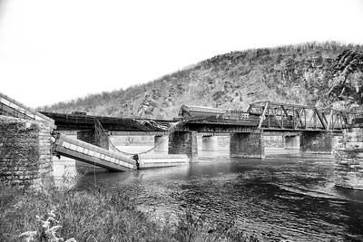 Train Derailment Charlie, Harper's Ferry - West Virginia