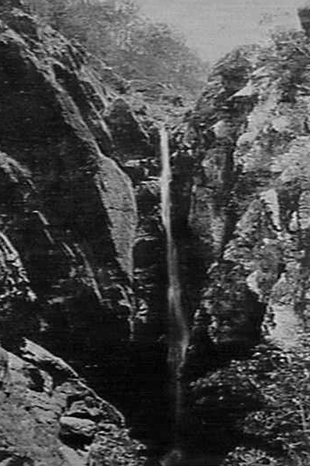 Yabba Falls in a Drought c1908