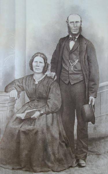 Wilhelmine & Detlef Stäben  1865  Hamburg