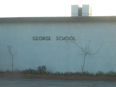 Holly went to the George School (ironic, huh).