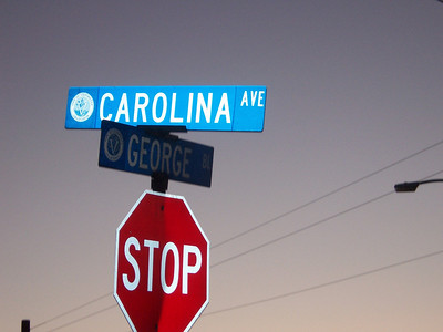 At the corner of Carolina and George