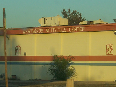 The old activities center.