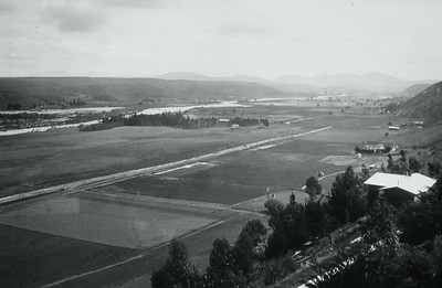 View of Mission Valley before development.  Courtesy of the Palestini Family.