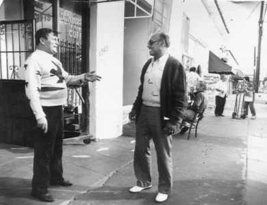 Italian business owner's on India Street - Circa 1980's.