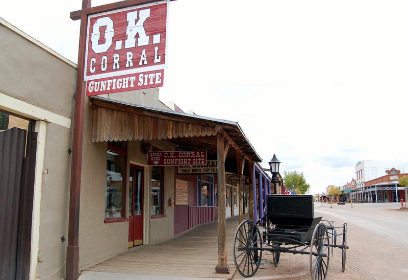 The genuine OK Corral & Giftshop