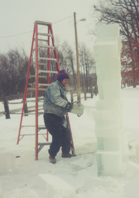 Jeff is an excellent ice carver.