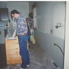 Ken Clawson's first task was to do some kitchen remodeling.