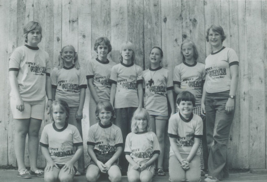 Top Left - Barb (Short) Goble; Top Right - Karen Carlson (daughter of Roy & Flo)