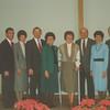 Doug Habegger, Ken & Beth, along with the donors for Oakwood Chapel:  Herb & Mary Ellen Meier, Jeanette & Charles Rupp, Maureen & Don Roth.