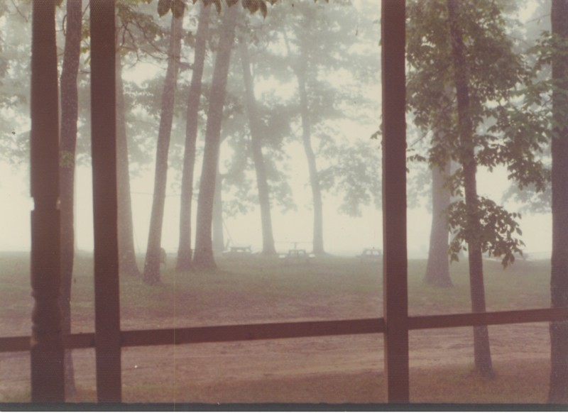 Early 1970's - Lodge picnic area.