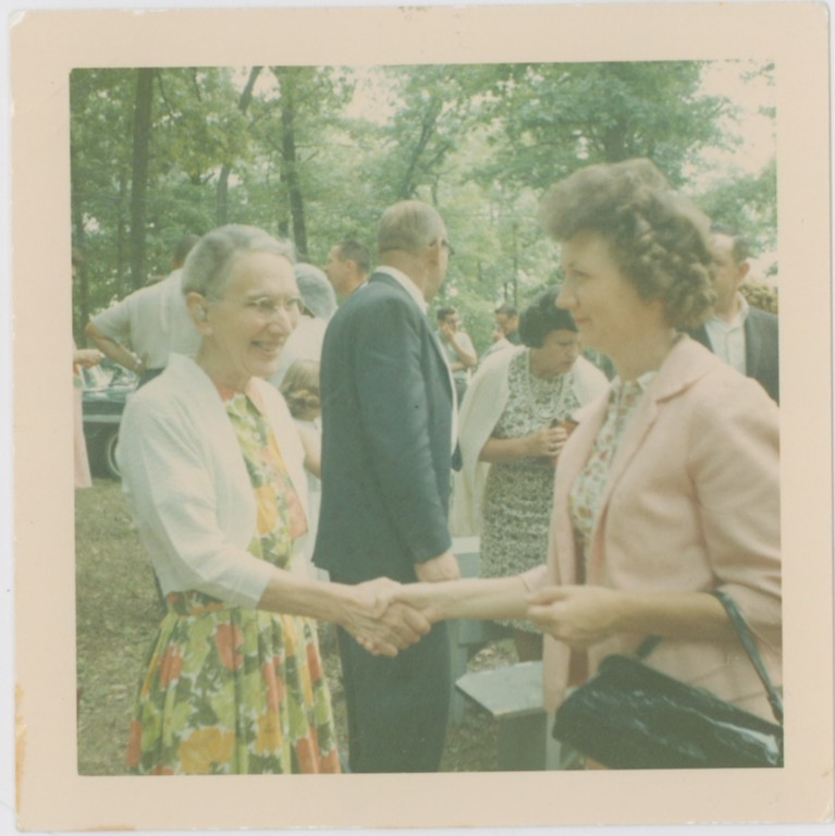 Miracle Camp Dedication Day, September 6, 1965  (The only known picture of Viola Zurlinden.)