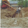 First footings - May 23, 1987