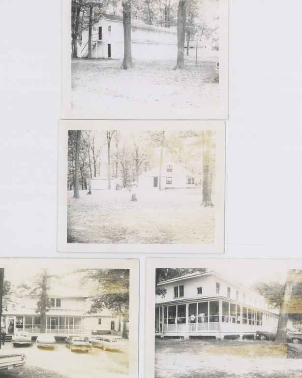 Top=Livingston; Middle=Director's House; Bottom=Old Lodge